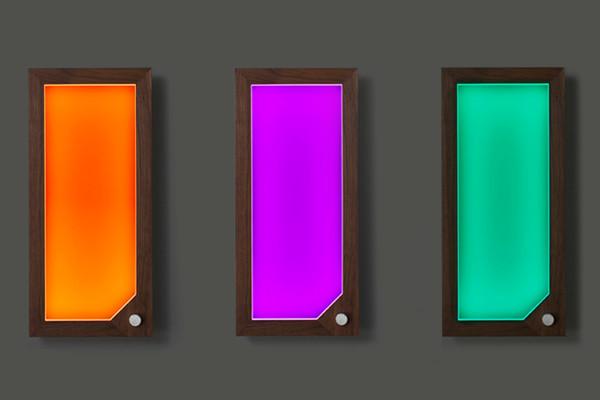 设计前卫的框架式LED灯 放哪儿都超有Feel