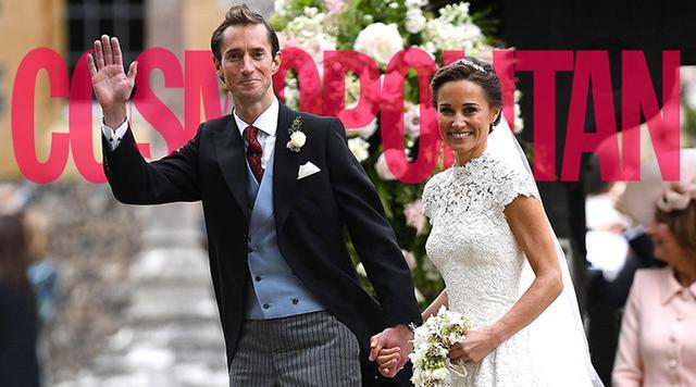凯特王妃妹妹大婚耗资300万,但最抢镜的竟是乔治王子?