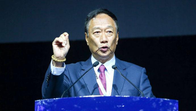 郭台铭强调鸿海收购夏普成果 将继续实施跨国投资
