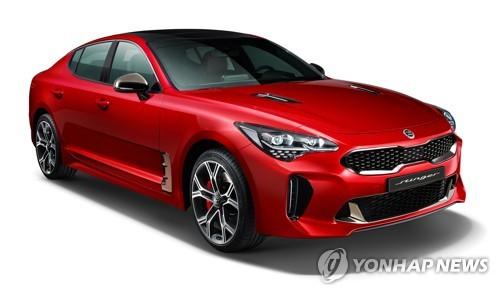 起亚Stinger轿跑在韩正式发布 今年将登陆欧美市场