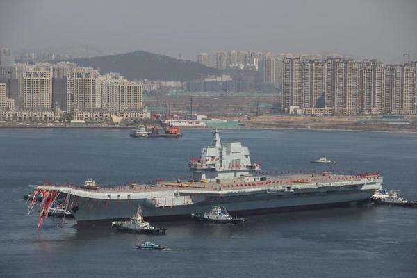 """媒体称中国航母还是""""学生"""" 仍无法打败美国"""