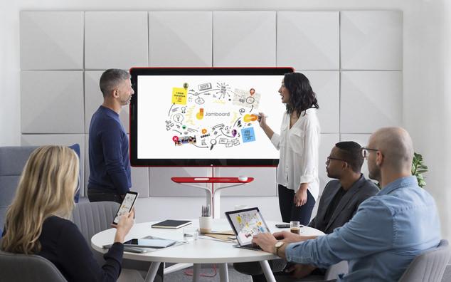 谷歌开售55英寸智能白板Jamboard 售价4999美元