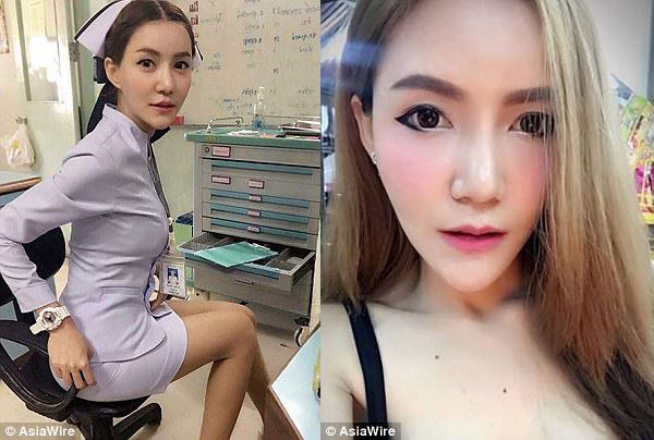 泰护士因衣着过于性感遭指责 被迫辞职