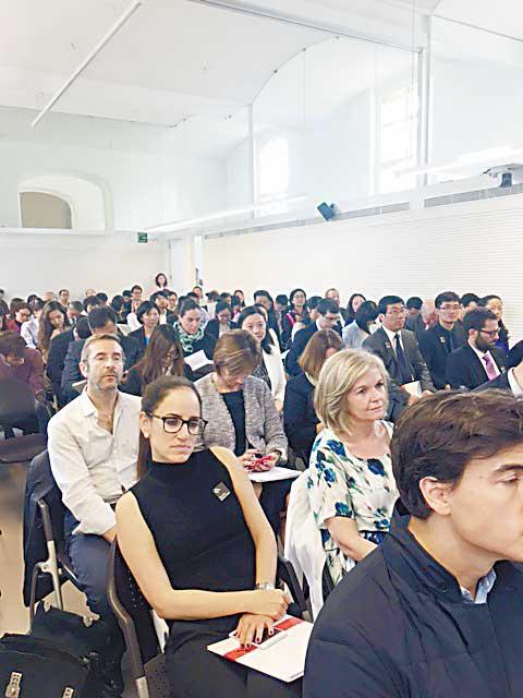 """巴塞罗那""""亚洲之家""""举办第五届中西高等教育交流会"""