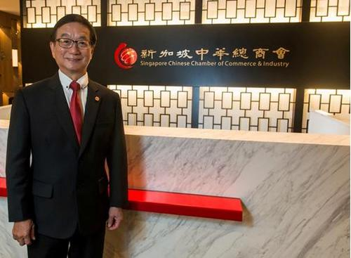 海上丝绸之路--新加坡中华总商会会长:希望新中企业联手拓市场