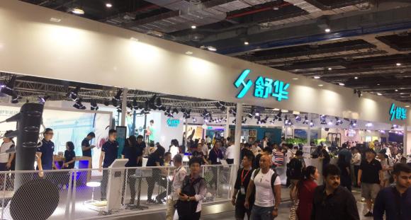 舒华2017上海体博会:通过科学运动缔造健康生活方式