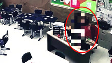 监拍:老师教室内对嘴亲吻10岁男生