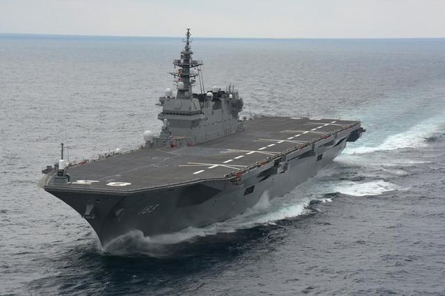 日本准航母靠港金兰湾 欲炒热南海问题转移压力