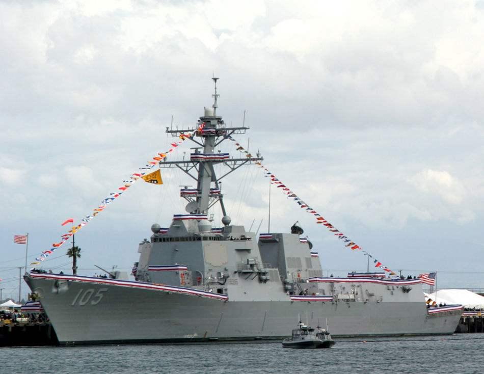 美舰进我美济礁附近巡航 美媒:特朗普上任后首次