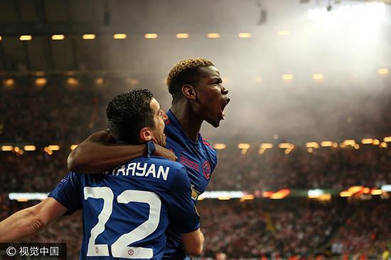 欧联杯-曼联2-0完胜阿贾克斯夺冠 成就欧战大满贯