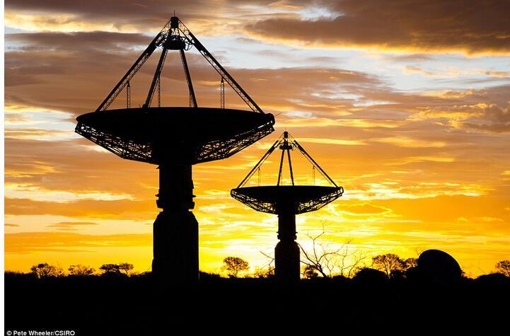 澳无线电望远镜捕捉到来自狮子座罕见信号