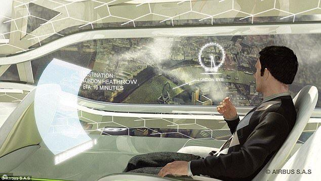 科技改变生活  2050年花式交通工具前瞻