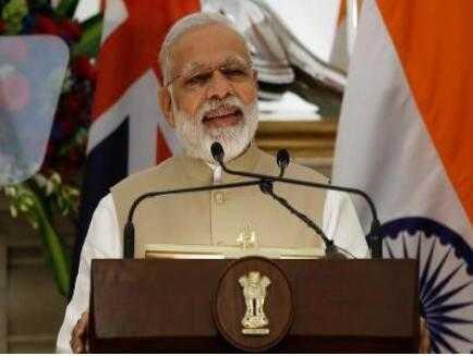 印度总理莫迪就任第三年 民调显示其支持率高
