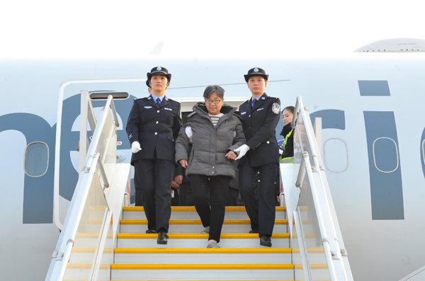 """揭秘""""红通一号""""杨秀珠落网始末:31名官员涉案"""