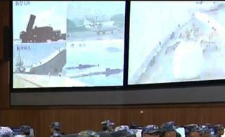 中国海军总部作战指挥室曝光
