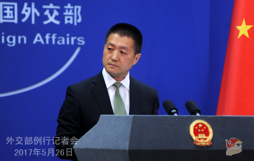 美高官称中国已加强中朝边境管制 外交部回应