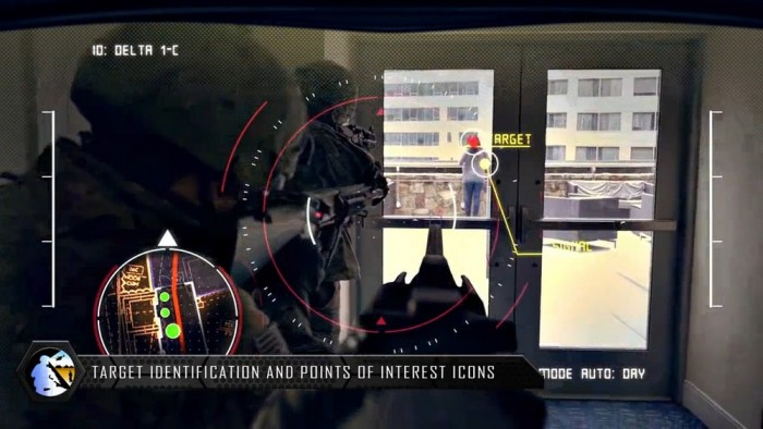 美军研发TAR头显:为士兵提供战术优势