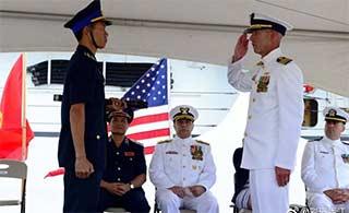 美国将退役海警船交付越南海警