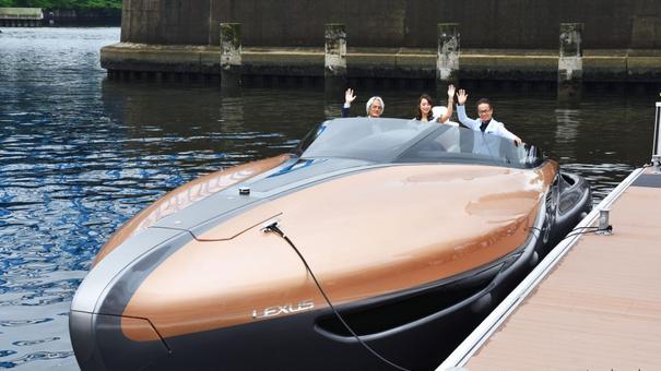 丰田将利用雷克萨斯汽车技术与设计生产游艇