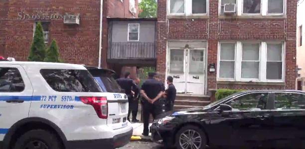 纽约两男子袭击抢劫华裔女子 向该女子面部连挥两拳(图)