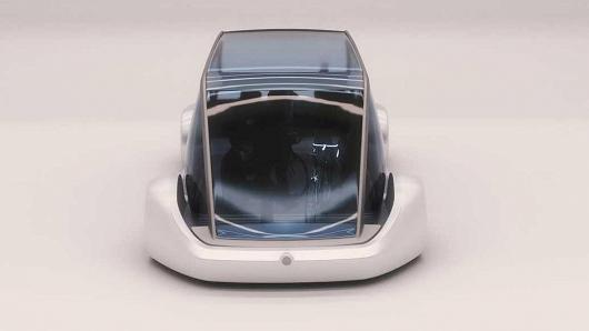 """""""无聊公司""""不无聊 马斯克发布新型电动概念车"""