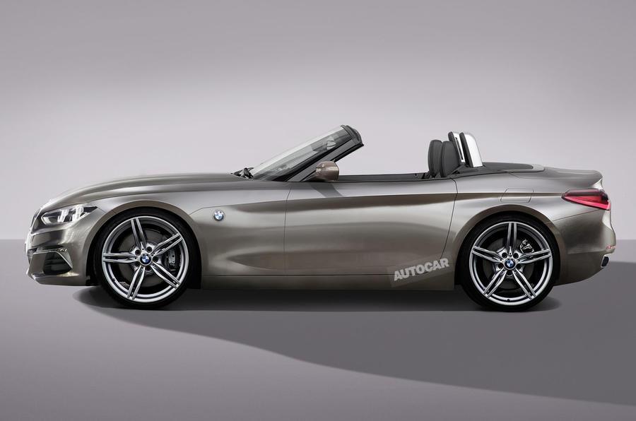 全新宝马Z4概念车8月亮相 预计2018年底上市