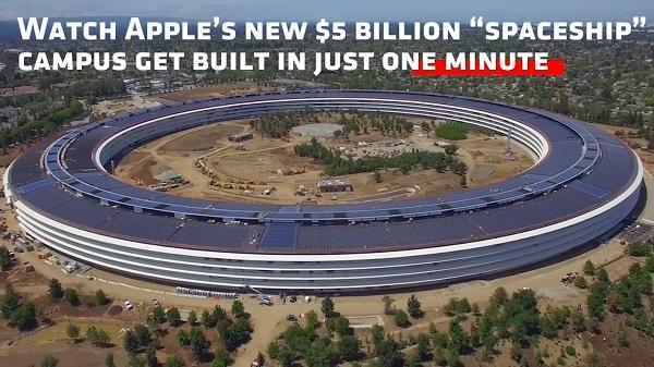 """科技雷不撕:60秒回顾苹果""""太空飞船""""一年进度"""