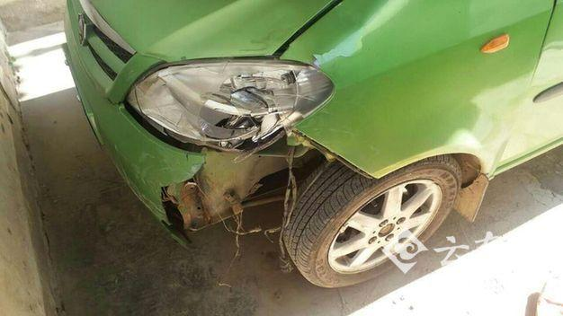 尴尬!男子交通肇事逃逸 被抓后发现撞了叔叔的车