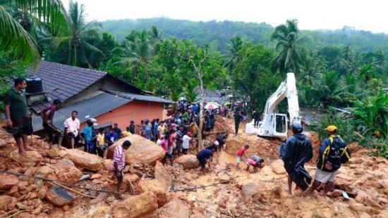 斯里兰卡泥石流和洪水已致91人死亡 110人失踪