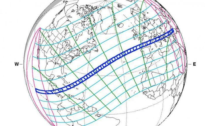 美国8月21日迎来最壮观日全食:将横跨全美