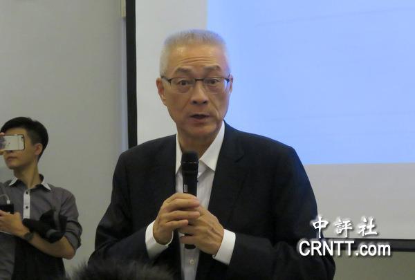 台资深媒体人:吴敦义不容小觑 会威胁蔡英文连任