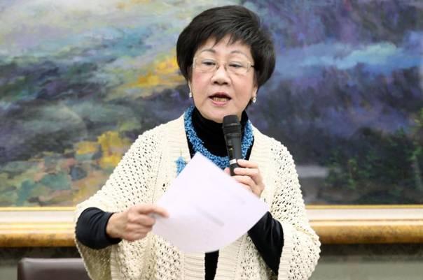 """吕秀莲疯言:台湾可追求以""""中立国""""形式存在"""