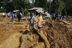 斯里兰卡洪水和山体滑坡已致上百人死亡