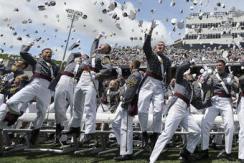 将军摇篮:美国西点军校毕业典礼