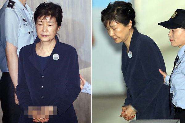 韩前总统朴槿惠接受第3次公审 涉嫌收受贿赂3.6亿