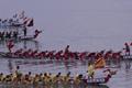 福建定海村端午节海上龙舟赛 比过年都热闹