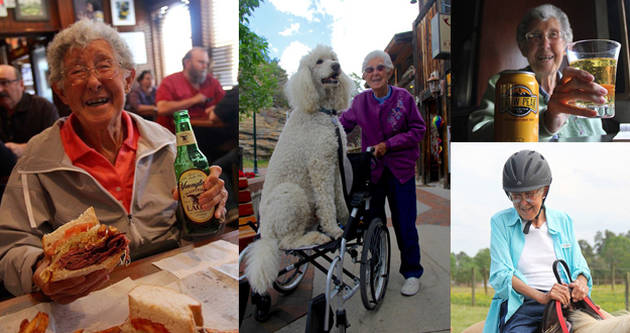出发不晚:90岁患癌老人放弃治疗去旅行