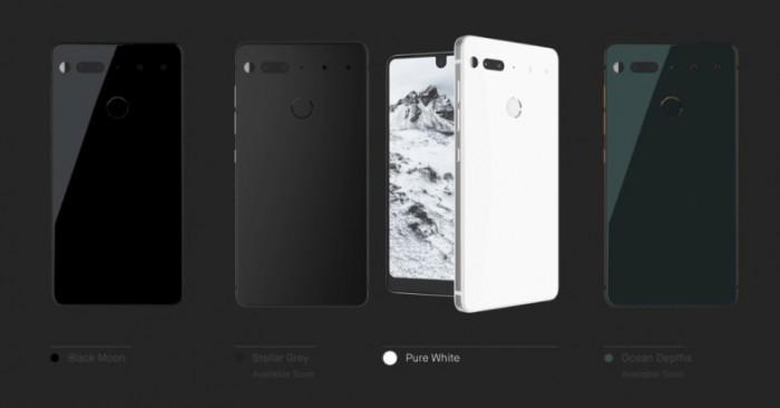 Android之父打造:全面屏手机Essential发布