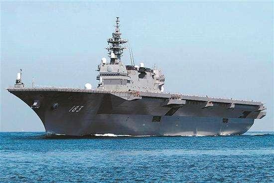 日本准航母四处出动大秀存在感 亲善还是搅局?