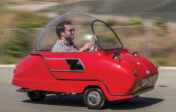 世上最小量产车拍卖引关注 或拍得70万元