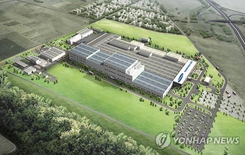 三星SDI匈牙利电动汽车电池厂完工 二季度投产