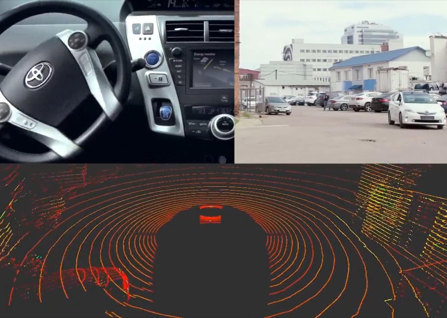 科技雷不撕:俄罗斯Yandex无人驾驶汽车测试视频