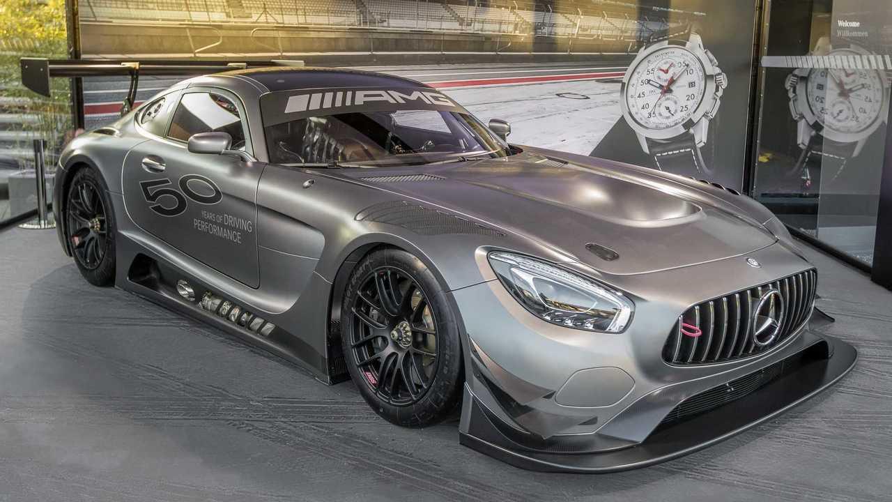 奔驰推出AMG五十周年纪念版车型 限量5台