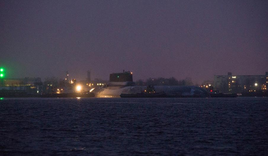 """俄最大核潜艇将赴北约""""后院"""" 与美进行核博弈"""