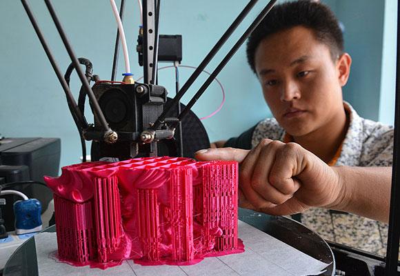 山东85后技术男共享3D打印技术 年入15万