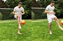 伊布恢复速度惊人已光脚训练 但曼联仍无意留他!