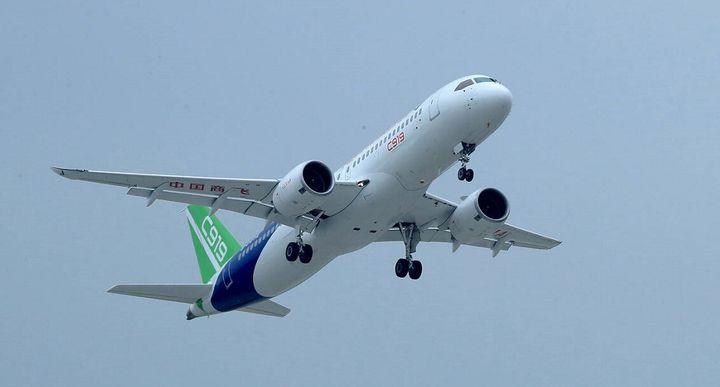 市场巨大:中国还需3200架客机 半数需要订购