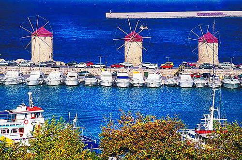 爱琴海中岛世界浓缩希腊味道
