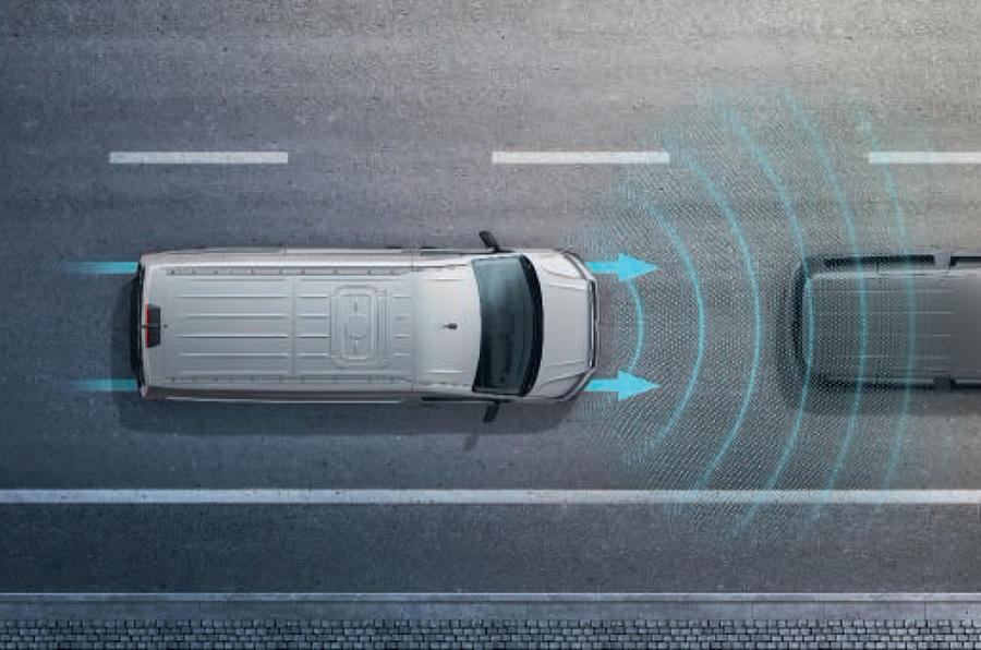 大众宣布将为全系商用车标配AEB系统