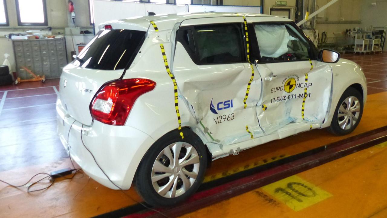2017款铃木雨燕获欧洲新车评估三星安全评级